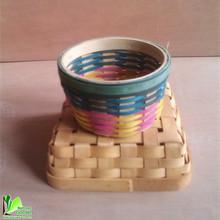 bamboo folding apple basket