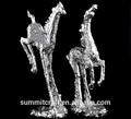 venta caliente 2015 modelo caballo estatua de poliéster
