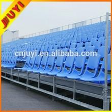 JY-715 Mobile Soccer,Football,Basketball Angle Frame Bleacher,Aluminum Freestanding Tribune Basketball Bleacher