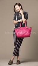 lady's variety style leather big size handbag