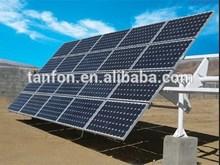 Solar ground mounting system 4kw/6kw Plastic solar mounting systems/4000w solar mill system