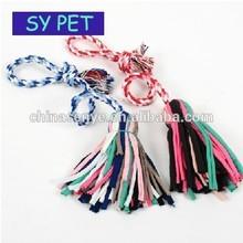 Pet rope dog toys, Pet dog toys,Colourful cotton rope