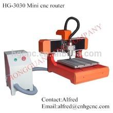 4 AXIS CNC Cutting Machine Mini desktop CNC Router 3030