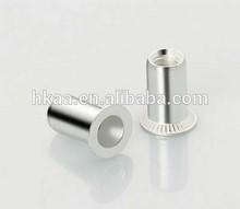 ISO OEM Aluminium Rivet Nut Polished Flat Head Round Body for Boat Fastners special custom service provided