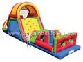 Parcours d'obstacles de jeux pour les enfants à chaud z4023