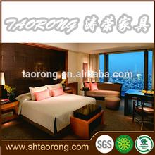5 star luxury custom made hotel bedroom furniture HS-075