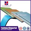 الألمنيوم البلاستيكية المركبة alucoworld تقديم نوعية البناء شطيرة لوحة المركبة