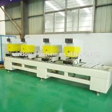 UPVC window making machine / Equipment to process vinyl windows doors
