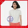 100 en blanco de algodón camisa de polo de venta al por mayor