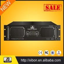 2 way 12 db crossover 500 watt high professional power amplifier