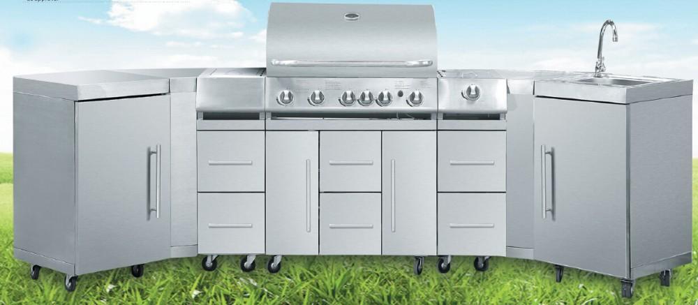 beliebt gasgrill grill outdoor k che grill im freien gas. Black Bedroom Furniture Sets. Home Design Ideas