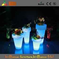 wholesale decorative plastic flower pots bright color flower pot