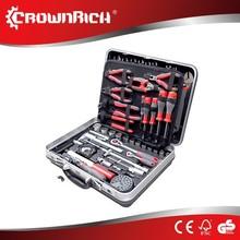 130pcs profesional tools kit auto tool set /tooltrolley /aluminum tool box