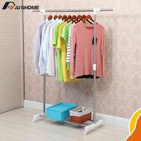 Hanger Dry Cleaning Homecare Stainless Single Rail Garment Rack