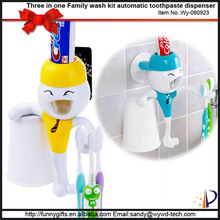 Cute bathroom accessory set new products 2014 toothbrush holder for home