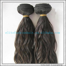 cheap price for 2pcs 20 inch virgin loop hair weave, 2015 hot sale virgin hair weaving