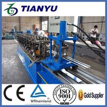 galvanized steel roller shutter door roll forming machine   Metal stud and track