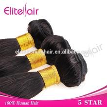 cheap price for 3pcs 20 inch virgin indian loop hair weave, 2015 hot sale virgin hair weaving