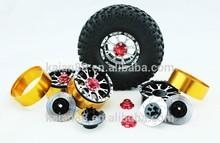 2014 factory direct! Rc wheel rim for 1/10 Chromed On Road Rims racing model car CNC aluminum universal toy