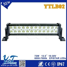 3000-6000K double row led light bar,surface mounted led light fixtures