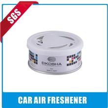 hot sale custom black ice car freshener mint