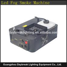led smoking machine RGB mixing colorful , dj stage disco club wedding party equipment