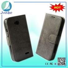 Genuine wholesale flip wallet leather cover case for lg l50