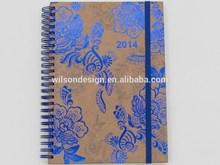 2015 School Supply Stationary Top quality custom spiral notebook