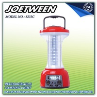 Rechargeable LED Camping Lantern with AM/FM Radio