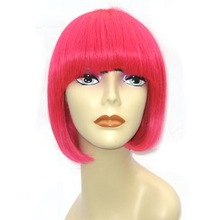 Party wig bob wig kanekalon wig with lowest prices