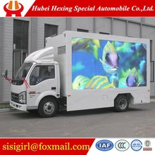 jmc newest used diesel LED advertising truck for sale
