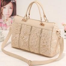 2015 Europe Style Women Fashion Vintage Lace Totes ladies handbags wholesale SV001933