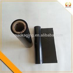 Low Tack Rigid Black PET Film Roll For Adhesive