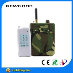 NEWGOOD camouflage color remote control hunting bird caller with TF card and fm radio