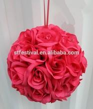 2015 handmade item girl wedding decoration flower ball