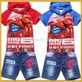 Baby desiger mayoristas de ropa de chico desgaste ropa usada, gran héroe 6 baymax robot mascota traje para los niños