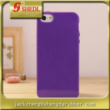 iPhone 6 Jelly Case Candy Fusion Series Classic Jelly Silicone Case Soft Cover for iPhone(Royal Purple)