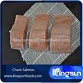 Selvagem de alta qualidade congelado Chum salmão parcela