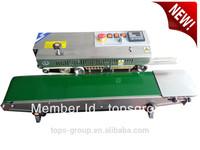 Continuous Plastic Bags/Film Sealing Machine/Heat plastic bag sealer