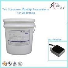 High temperature resistant epoxy resin RTV potting adhesive