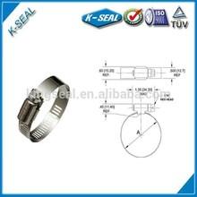 Círculo braçadeira, Mangueira de combustível clipe, Grampo fastener KB10SS