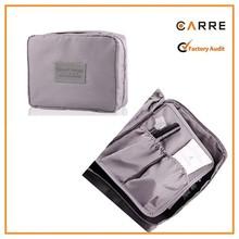 custom trendy soft ripstop travel men make up bag