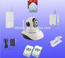 FDL-WF4 pnp p2p wireless sensor wireless ip hd camera 720p night vision ir cut security camera set