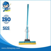 2015 new products Double squeeze design PVA sponge floor mop made in china