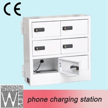 2015 6 compartment new design low price wireless charging