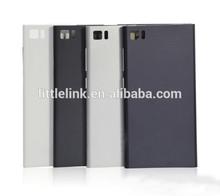 black sliver white Back Battery door Housing rear Cover For Xiaomi Xiao Mi 3 M3 Mi3 WCDMA Version
