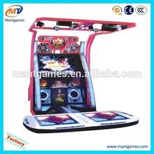 Video Game Arcade, Dancing Game Machine, Dance Dance Revolution