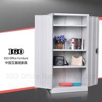 IGO-022 Two door file cabinet metal wardrobe diy portable closet wardrobe