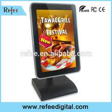 advertising player full hd 1080p media player tabletop retail advertising, restaurant menu board