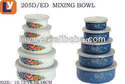 food storage container enamel bowl